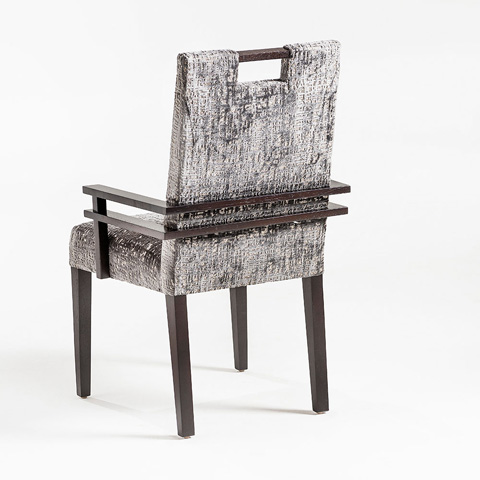 Adriana Hoyos - Chocolate Arm Chair - CH02-120