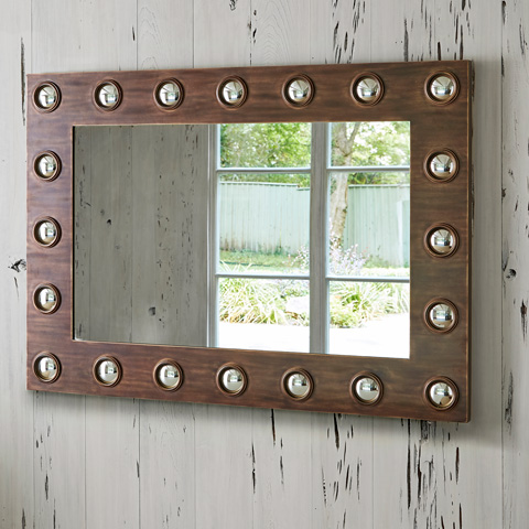 Ambella Home Collection - Bull's Eye Mirror - 27059-980-051