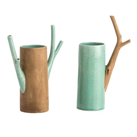 Arteriors Imports Trading Co. - Mandara Vases-Set of 2 - 7702