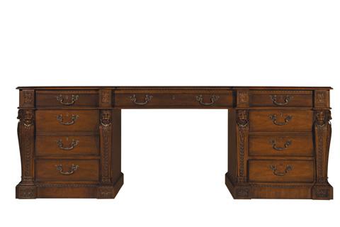 Baker Furniture - Pedestal Partners Desk - 5387