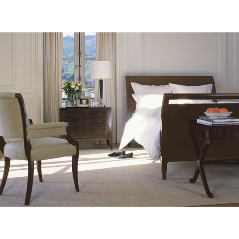 Baker Furniture - Three Drawer Bedside Chest - 3454