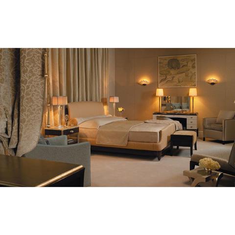 Baker Furniture - Gracie Queen Upholstered Bed - 4024Q
