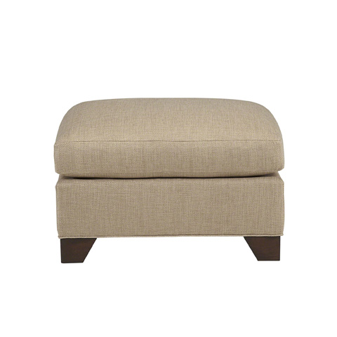 Baker Furniture - Track Arm Ottoman - 6923O
