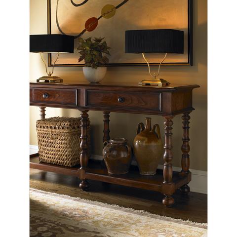 Baker Furniture - Lyre Low Table Lamp - JG106G