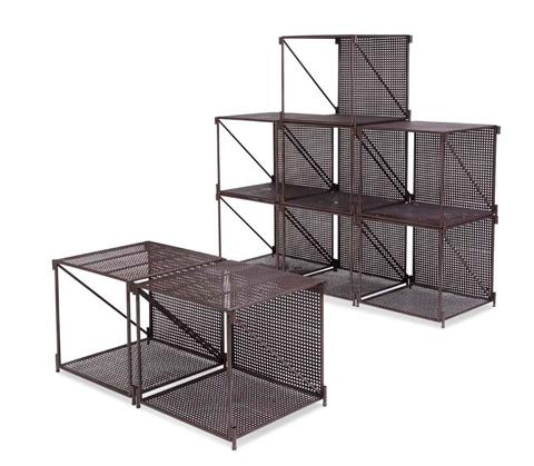 Bassett Mirror Company - Loft Cube Storage - A2927