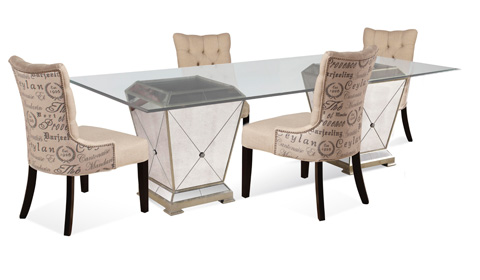 Bassett Mirror Company - Borghese Dining Pedestal Table - 8311-601-909