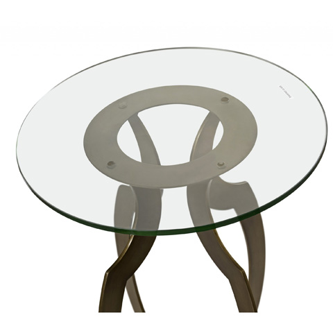 Bassett Mirror Company - Krier Round Accent Table - A2380