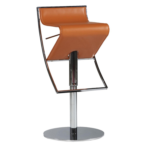 Bellini Imports - Delta Leather Barstool with Hydraulic Seat - DELTA