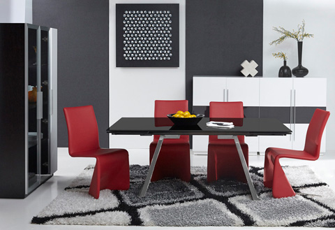 Bellini Imports - Penthouse Dining Table - PENTHOUSE