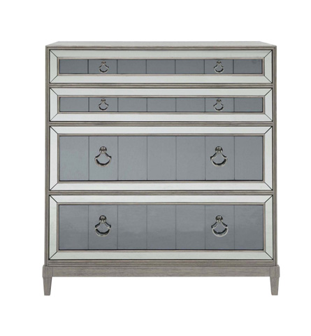Belle Meade Signature - Tyler Two-Tone Mirrored Occasional Chest - 5014