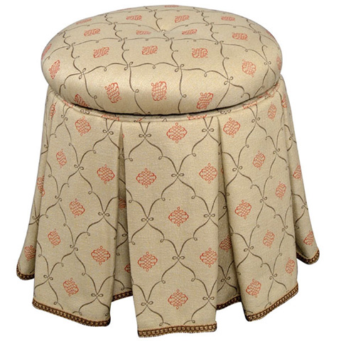 Emerson Bentley - Vanity Stool With Swivel - 8398-01