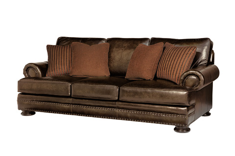 Bernhardt - Foster Leather Sofa - 5177LO