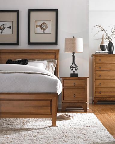 Borkholder Furniture - Millcreek Two Drawer Nightstand - 44-1601XXX