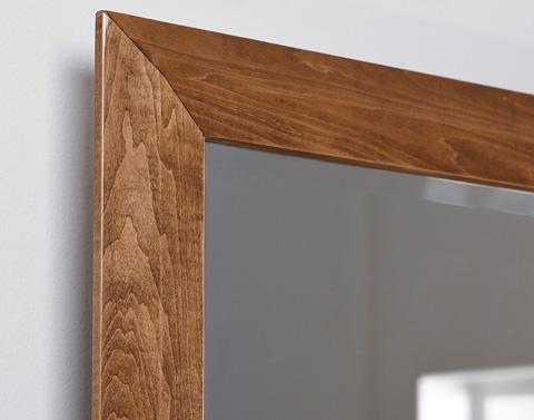 Borkholder Furniture - Millcreek Beveled Dresser Mirror - 44-2001XXX