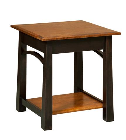 Borkholder Furniture - Madison End Table - NC-2502XXX