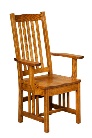 Borkholder Furniture - Ola's Mission Arm Chair - NC-9034ACX