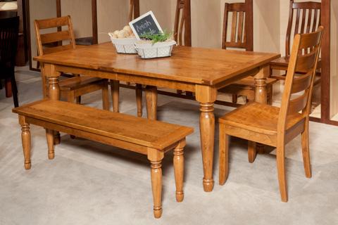 Borkholder Furniture - Farm Dining Table - NC-8007LF2