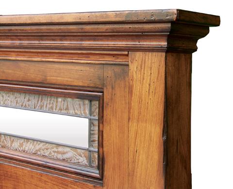 Borkholder Furniture - Livingston Queen Deluxe Headboard - 23-1501QHB