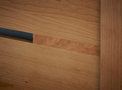 Borkholder Furniture - Transitions Queen Panel Headboard - 40-1501QHB