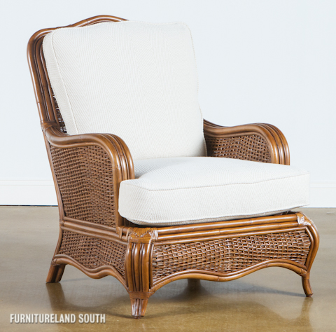 Braxton Culler - Wicker / Rattan Accent Chair with Cushions - 1910-001