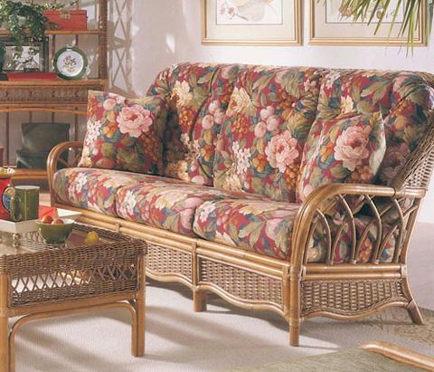 Braxton Culler - Wicker / Rattan Sofa with Cushions - 905-011