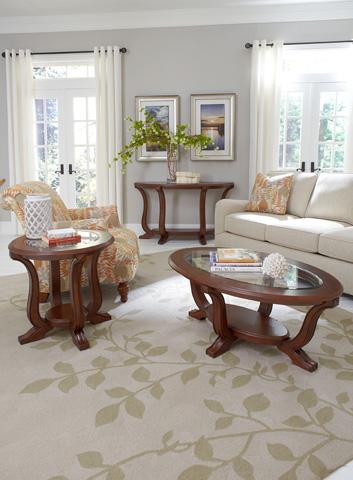 Broyhill Furniture - Lana Oval Coffee Table - 3459-001