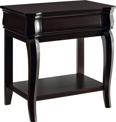 Broyhill Furniture - Aryell Cacao Night Table - 4907-291