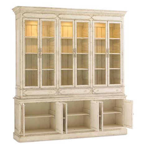 Caracole - French Affair China Cabinet - CAS-OPNSTO-004