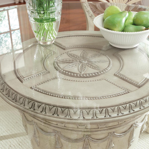 Caracole - Empire II Round Pedestal Dining Table - 3062-930