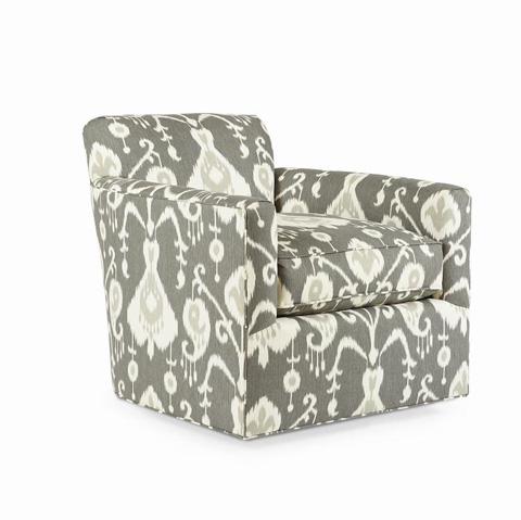 Century Furniture - Maximo Swivel Club Chair - ESN229-8