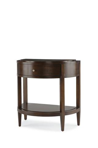 Century Furniture - Demilune Leg Nightstand - 33H-225