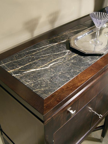 Century Furniture - Sideboard with Marble Top - 819-407M