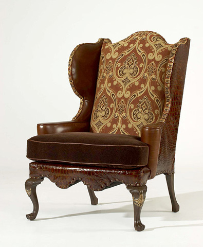 Century Furniture - St. Andrews Wing Chair - LR-18050