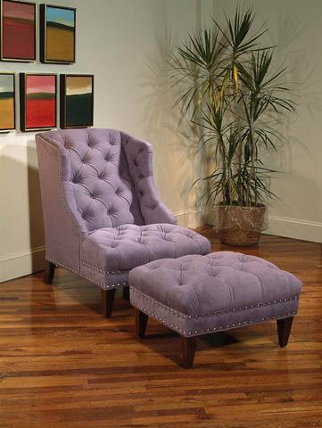 Century Furniture - Frazer Wing Chair - LR-18187