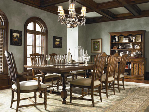 Century Furniture - Miller's Creek Dining Table - T4H-302