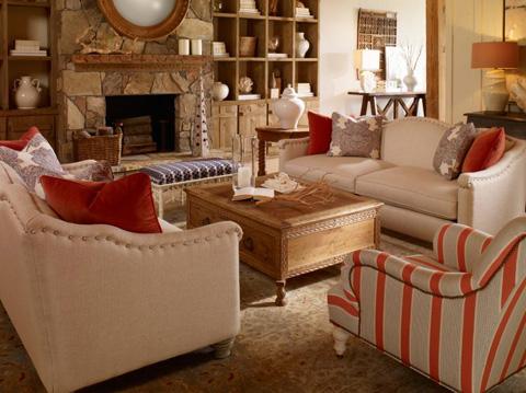 Century Furniture - Ella's Sofa - TLTD9618-2