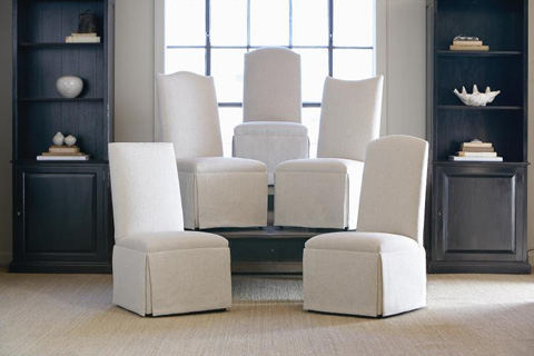 Century Furniture - Hollister Camelback Top Chair - 3370-3