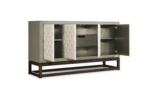 Century Furniture - Credenza with Upholstered Door Fronts - 339-404U