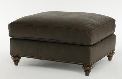 Century Furniture - Leatherstone Ottoman - LR-7600-12