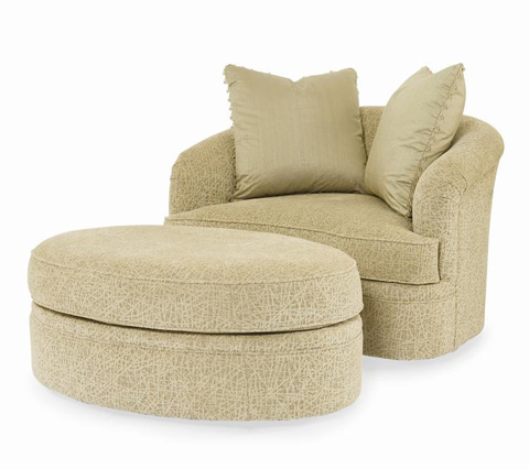 Century Furniture - Portico Ottoman - LTD5122-12