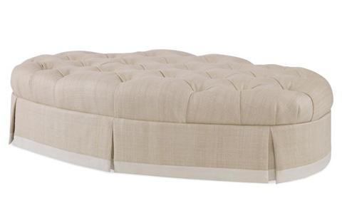 Century Furniture - Regina Tufted Ottoman - 33-226T