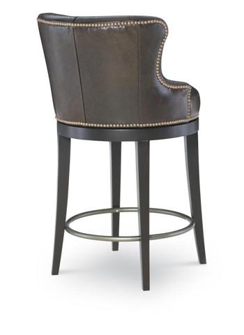 Century Furniture - Leather Swivel Counter Stool - PLR-3854C-SUMATRA