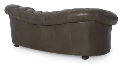 Century Furniture - Leather Sofa - PLR-9102-GRAPHITE