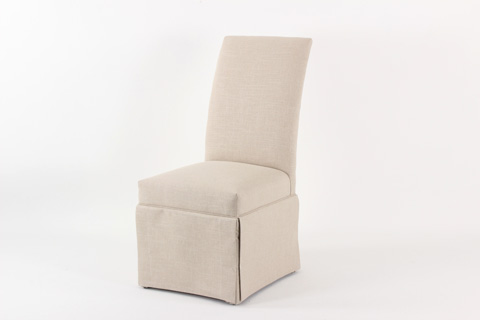 CMI - Upholstered Side Chair with Skirt - 609