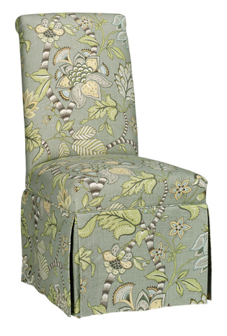 CMI - Roll Back Skirted Side Chair - 647