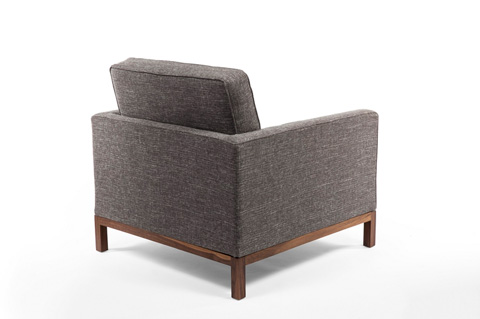 Control Brand - The Dexter Lounge Chair - FEC3719TWBLK1