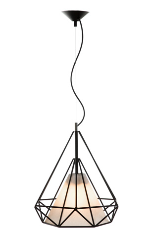 Control Brand - The Enns Pendant Lamp - LM160PBLK