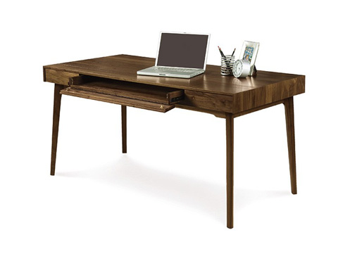 Copeland Furniture - Catalina Desk with Keyboard Tray - 3-CAL-10-04