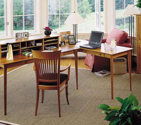 Copeland Furniture - Sarah Desktop Organizer - 5-SAR-32