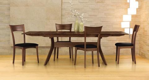 Copeland Furniture - Audrey Buffet - Walnut - 6-AUD-50-04